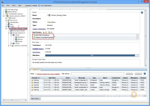 HP StoreVirtual Storage Testing