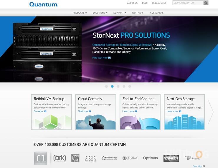 Quantum SONUMA storage solution