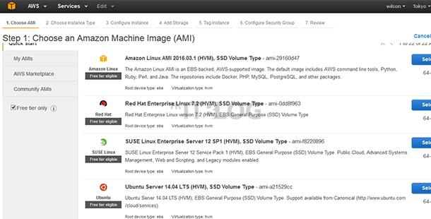 如何在 AWS 之中免費建立 EC2 Free Tier VM(1)?