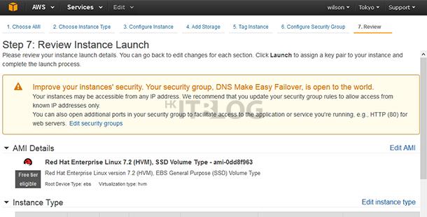 如何在 AWS 之中免費建立 EC2 Free Tier VM(2)?
