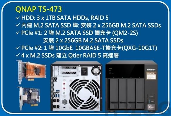 QNAP TS-x73 配 AMD RX-421ND 處理器:高性價比 NAS 就應這樣!