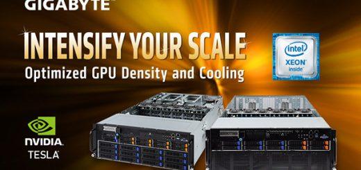 技嘉推出最新4U GPU伺服器 為數據中心提供新動力