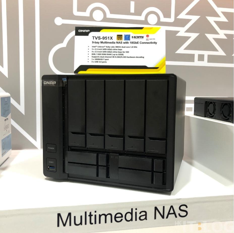台北 2018 Computex 直擊!QNAP 硬體解決方案、為大型企業/SOHO 帶來更大效益!