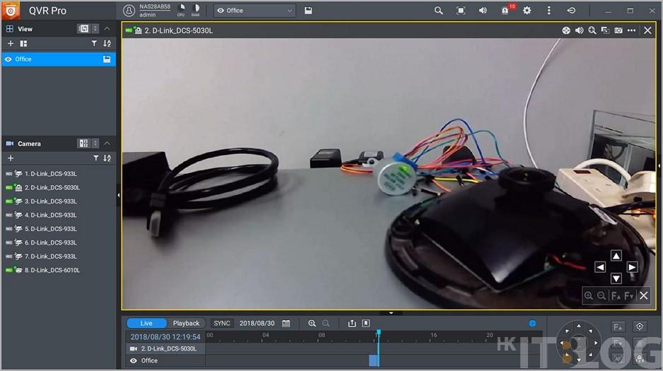 QNAP QVR Pro 免費 8 個 IP Cam 頻道!PTZ 及魚眼鏡通通支援!