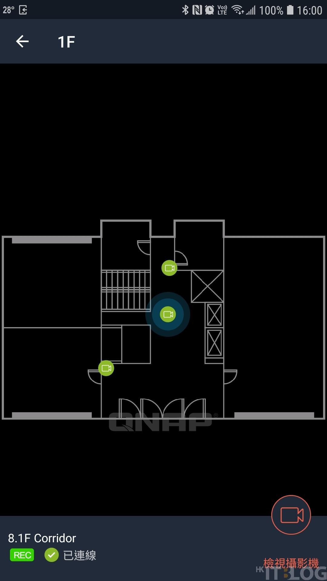 QNAP QVR Pro Motion Detection+電子地圖:從此即時搜證無難度!