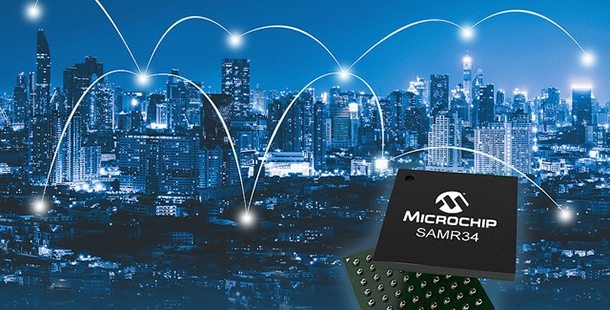 Microchip推出全新LoRa整合微控制器 提升物聯網設備通訊範圍