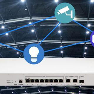 Microchip推出全新IEEE 802.3bt PoE八埠交換器 傳送數據同時提供可靠電力傳輸