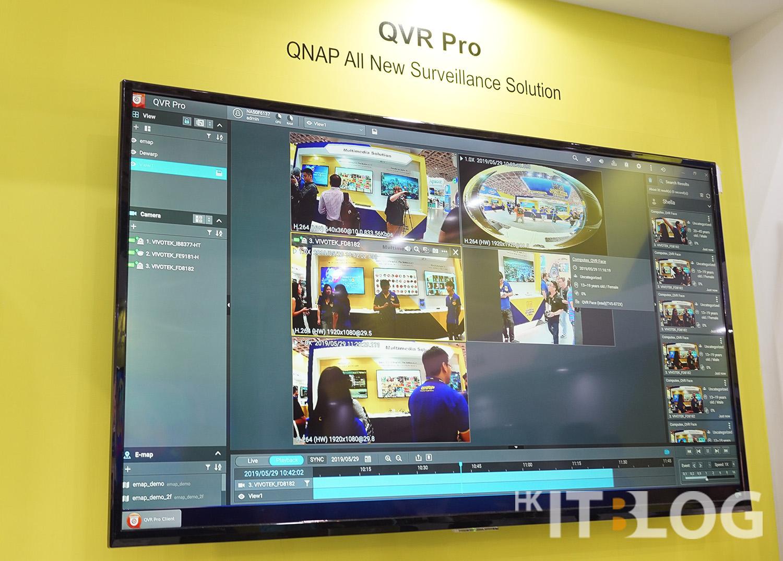 全新 QVR Pro 影像監控介面