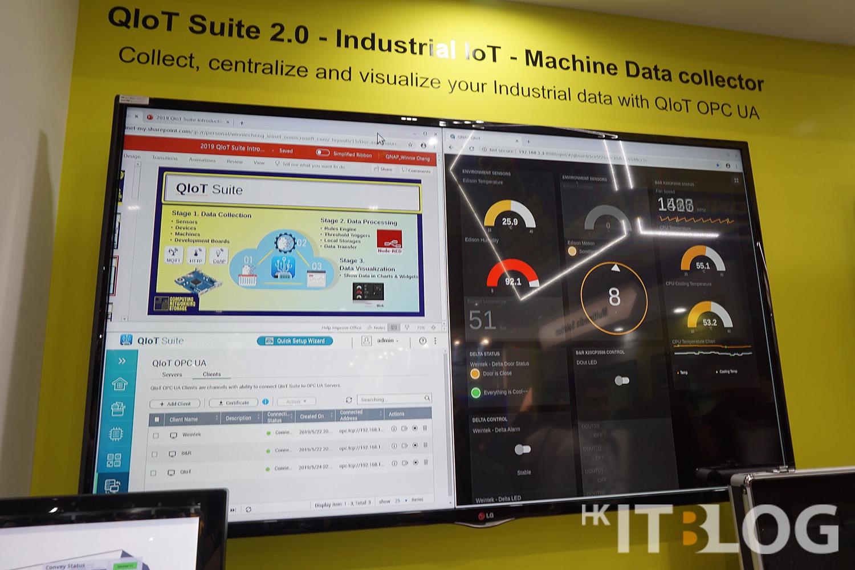 QIoT Suite 2.0 工業應用展示
