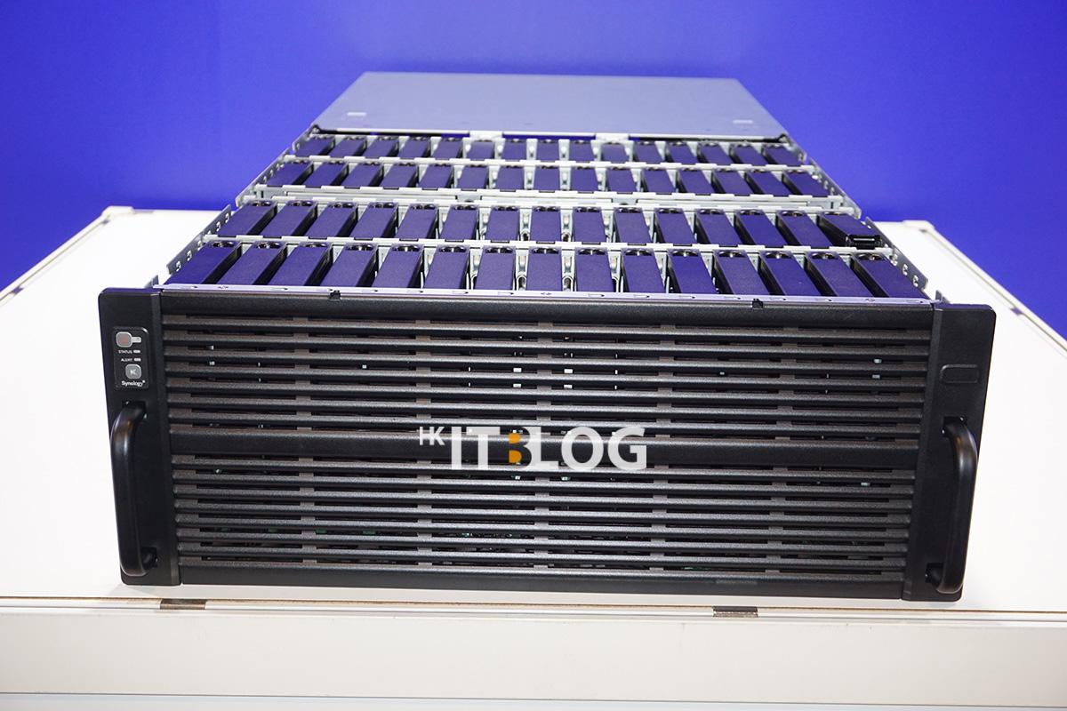 可裝載 60 顆硬碟的高密度儲存伺服器 HD6400