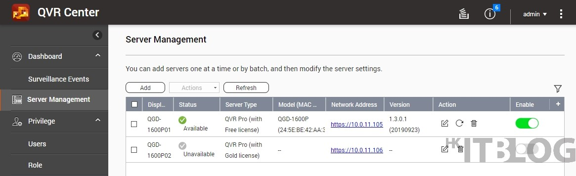 QGD-1600P PoE 交換器整合 QVR Pro、極速打造 IP Surveillance 解決方案!